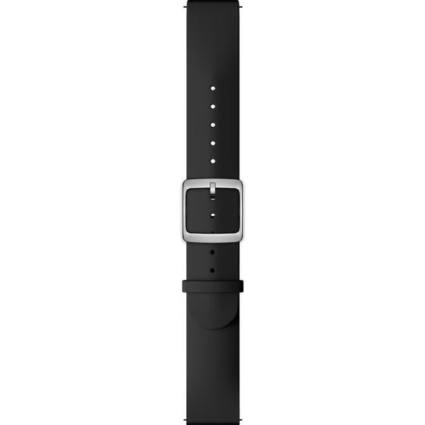 Nokia Accessory silikonový řemínek (18mm) Activité Steel a Steel HR (36mm) černý NOK-SIL-18-BK Černá