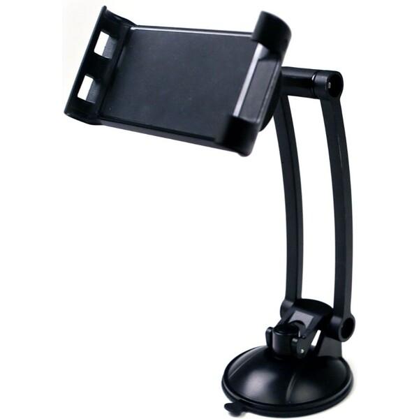 Přísavný držák Desire 2 pro telefony a tablety, s prodlouženým ramenem HOLCSLBK Černá