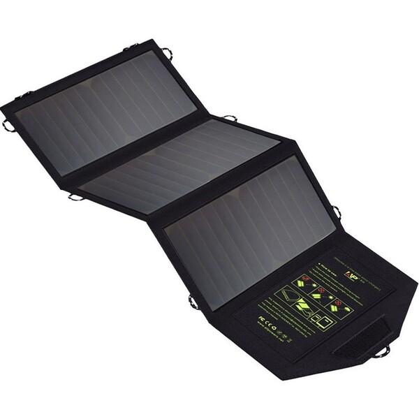 Solární nabíječka Allpowers SP5V21W Černá