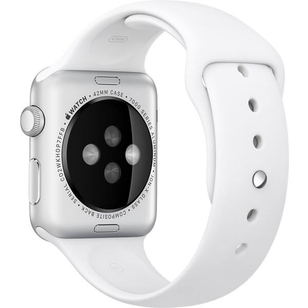 Apple Watch sportovní řemínek 42mm bílý