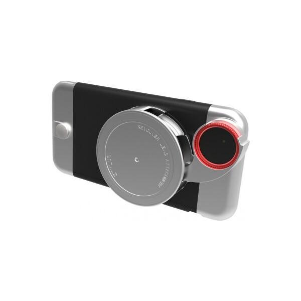 Ztylus Revolver Metal sada pouzdra a objektivů pro iPhone 6/6S plus stříbrná