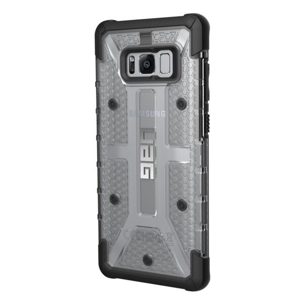 Pouzdro UAG plasma case Ash Samsung Galaxy S8+ Čirá