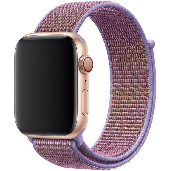 Apple Watch provlékací sportovní řemínek 44/42mm šeříkově modrý