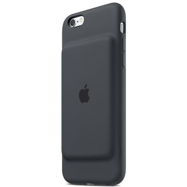 Apple iPhone 6/6S Smart Battery Case zadní kryt s baterií uhlově šedý