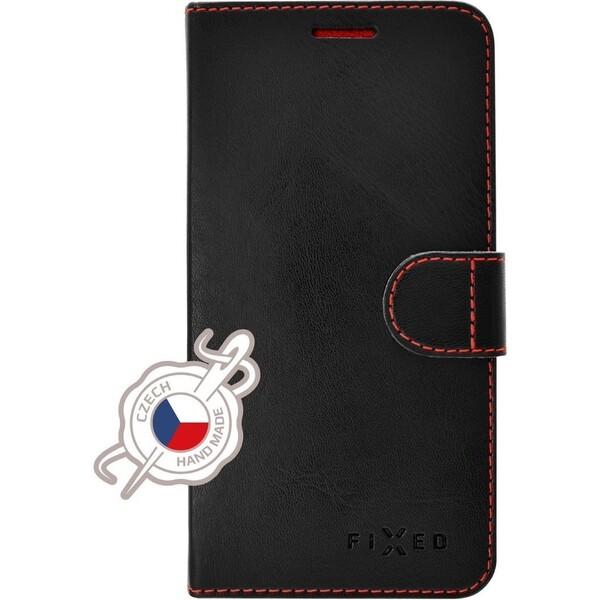 FIXED FIT flipové pouzdro Samsung Galaxy J3 2017 černé Černá