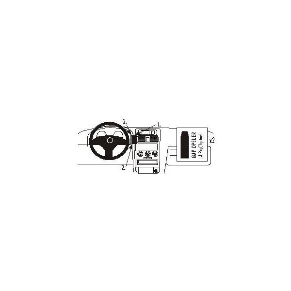 Brodit ProClip montážní konzole pro Opel Astra 98-03