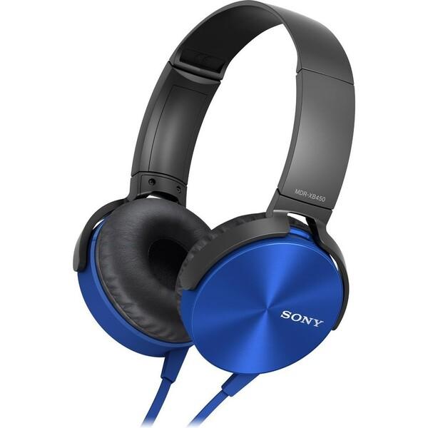 Sony MDR-XB450AP X bass sluchátka modrá
