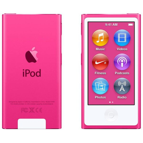 Apple iPod nano 16GB MKMV2HC/A Růžová