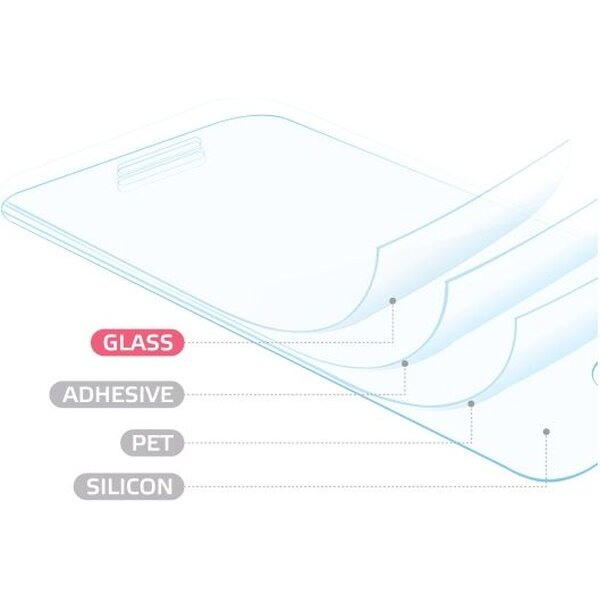 Smarty tvrzené sklo celý displej Samsung Galaxy Note 7 čiré