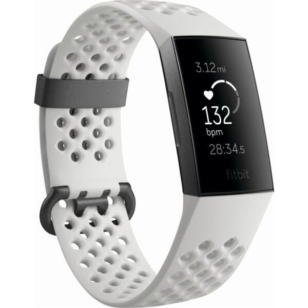 Fitbit Charge 3 FB410GMWT-EU Černá