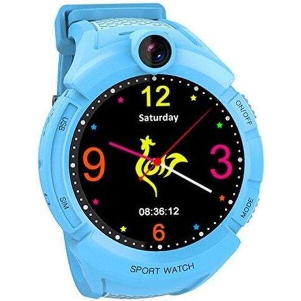CEL-TEC GW600 dětské hodinky s GPS modré