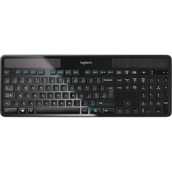 Logitech K750 bezdrátová klávesnice UK