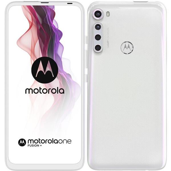 Motorola One Fusion+ Moonlight White