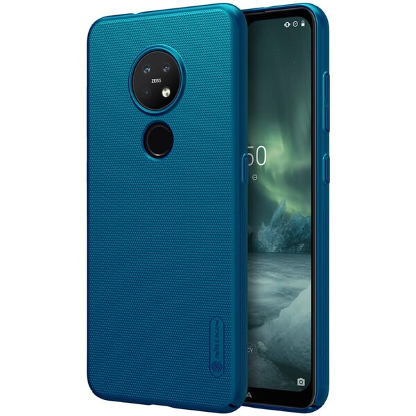 Nillkin Super Frosted kryt Nokia 6.2/7.2 modrý