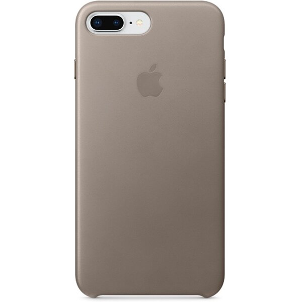Pouzdro Apple kožené iPhone 8 Plus / 7 Plus kouřové Kouřová