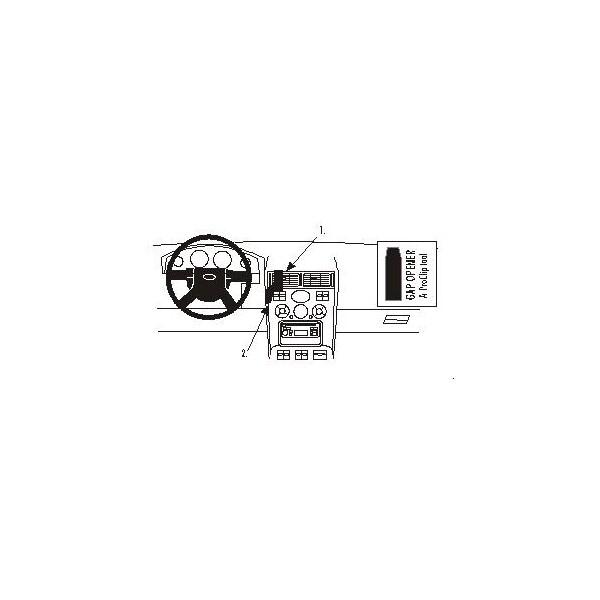 Brodit ProClip montážní konzole Ford Mondeo 01-07