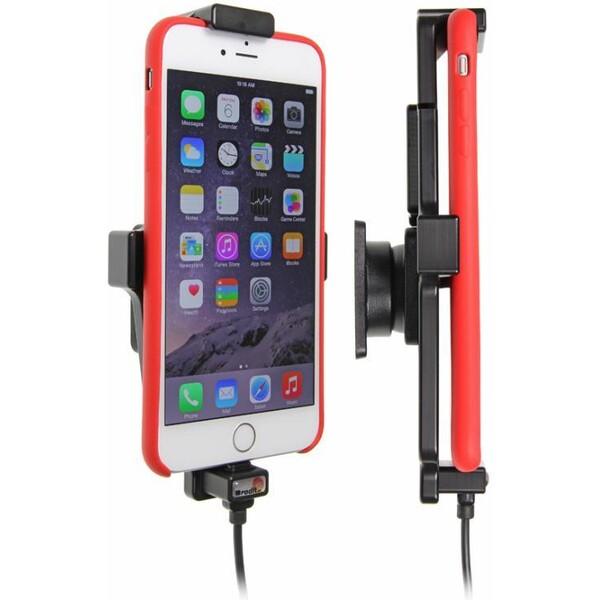 Brodit držák do auta iPhone 6 Plus/6S Plus v tenkém pouzdru s nabíjením z cig zapalovače s USB adapt