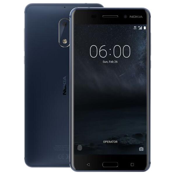Nokia 6 Single SIM Modrá