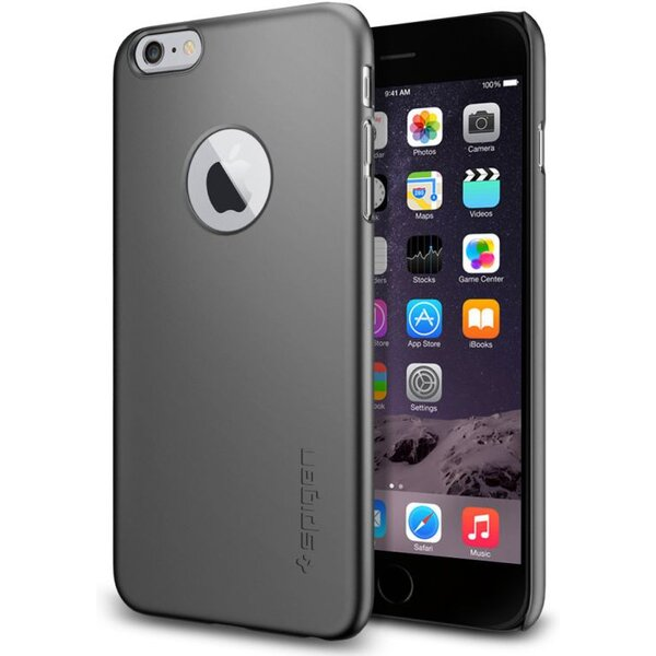 Spigen Thin Fit kryt Apple iPhone 6 Plus  6S Plus šedý  c4cd5468f4f