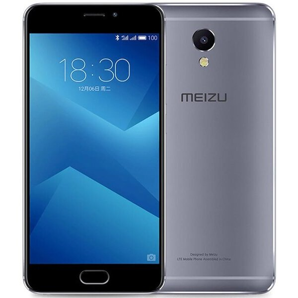 Meizu M5 Note 3GB/16GB CZ LTE Dual SIM šedý