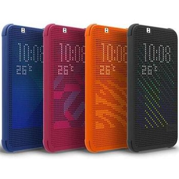 HTC HC M140 Dot Folio pouzdro Desire 620 černé