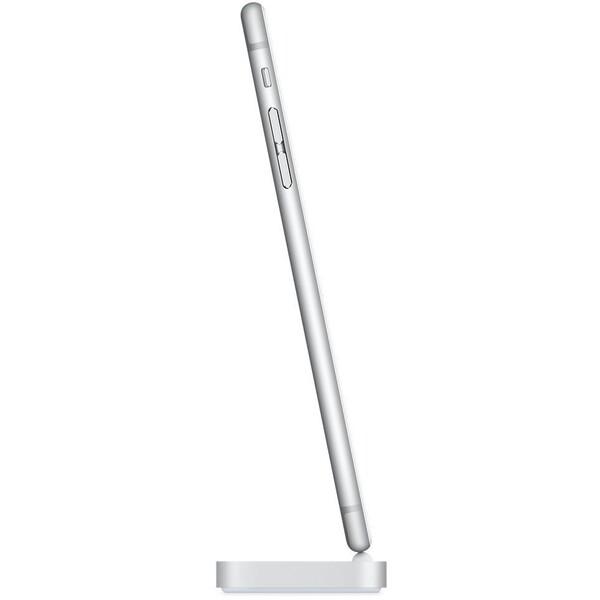Apple iPhone Lightning Dock – stříbrný, ML8J2ZM/A Stříbrná