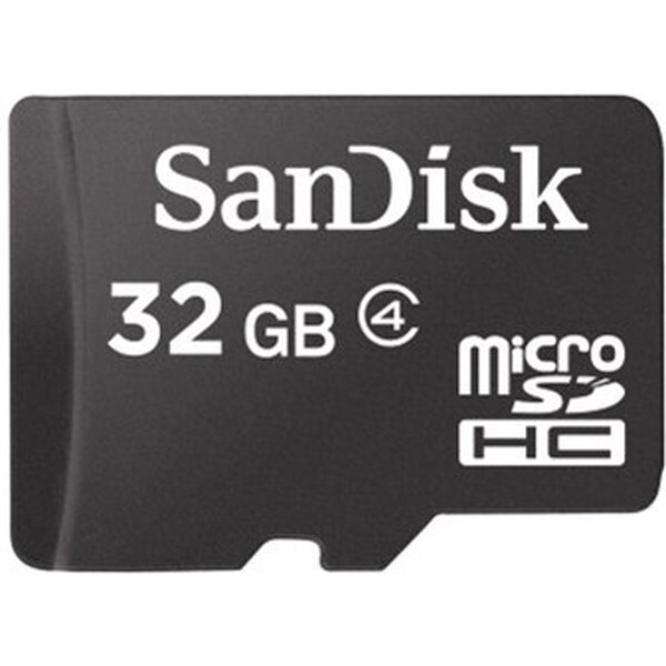 SanDisk microSDHC 32GB Class 4 SDSDQM-032G-B35
