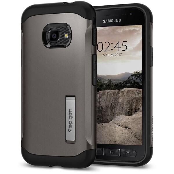 Spigen Slim Armor odolné pouzdro Samsung Galaxy Xcover 4 šedé