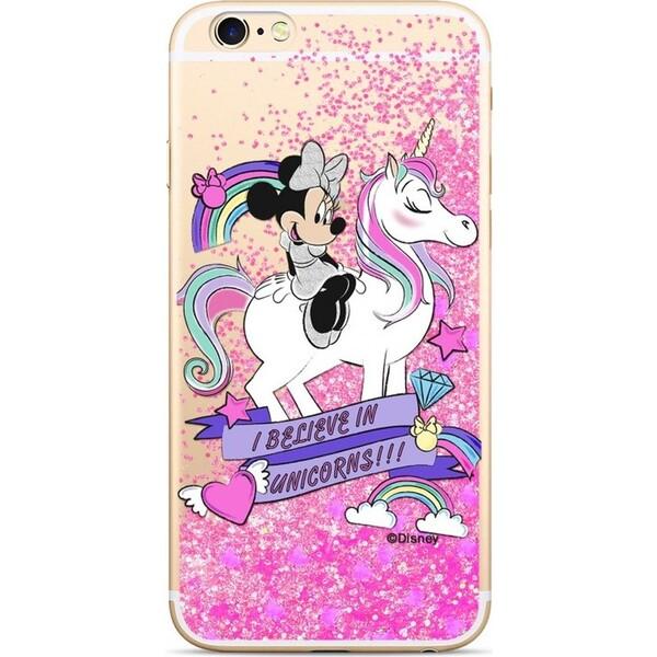 Disney Minnie 035 Glitter zadní kryt iPhone 6 6S růžový ab6e71478ae