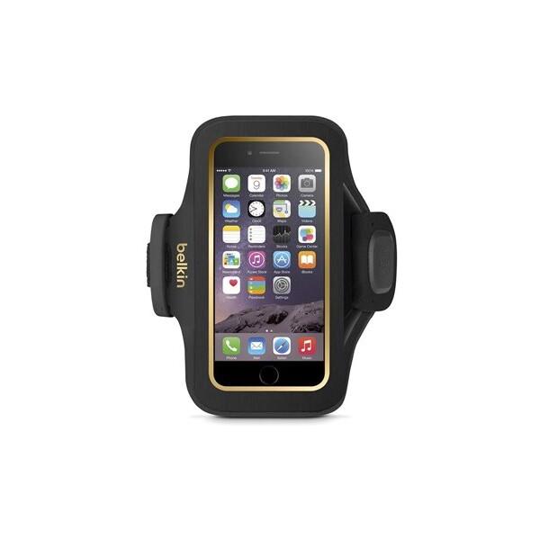 Pouzdro Belkin Sport Fit Plus Armband iPhone 6 černé Černá