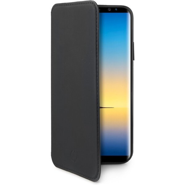 Pouzdro Celly Prestige Samsung Galaxy Note 8 Černá
