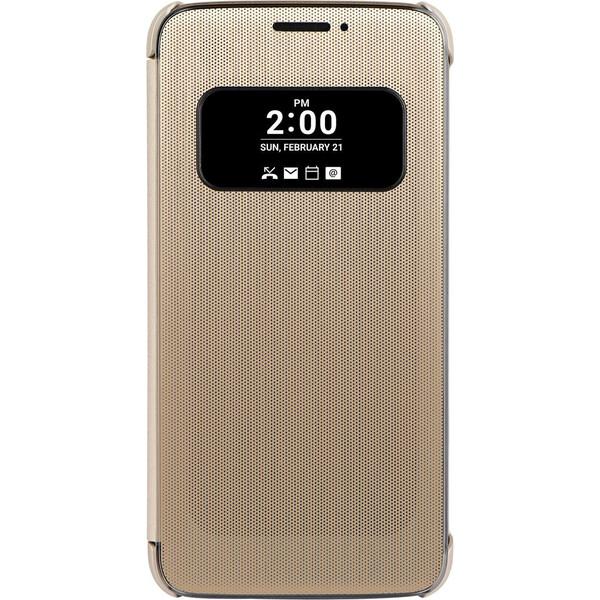 LG CFV-160 Mesh Folio flip pouzdro LG G5 zlaté