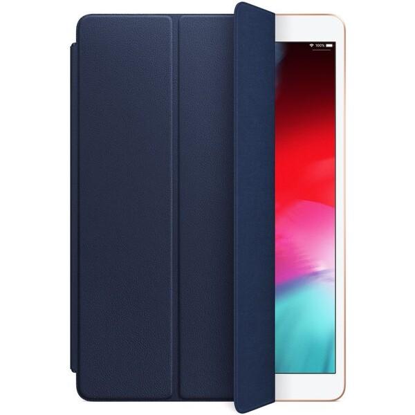 """Apple Leather Smart Cover kožený přední kryt iPad Air 10,5"""" pulnočně modrý"""