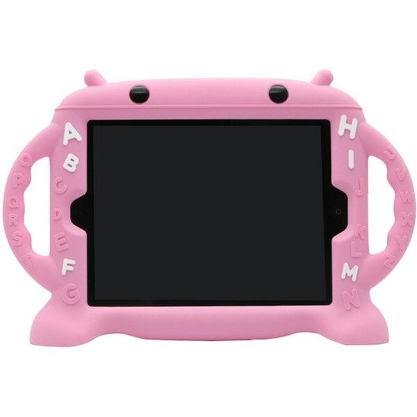 Cartoon Monkey ochranné pouzdro Apple iPad 2/3/4 růžové