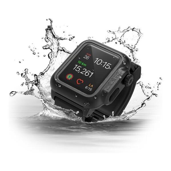 Catalyst odolné vodotěsné pouzdro Apple Watch Series 2 38mm černé