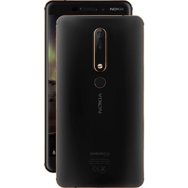 Nokia 6.1 3/32 Dual SIM Černá