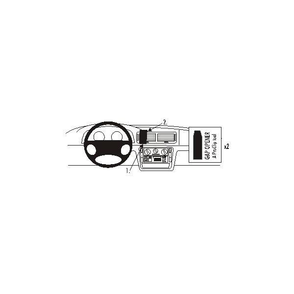 Brodit ProClip montážní konzole VW Passat 97-05 na střed