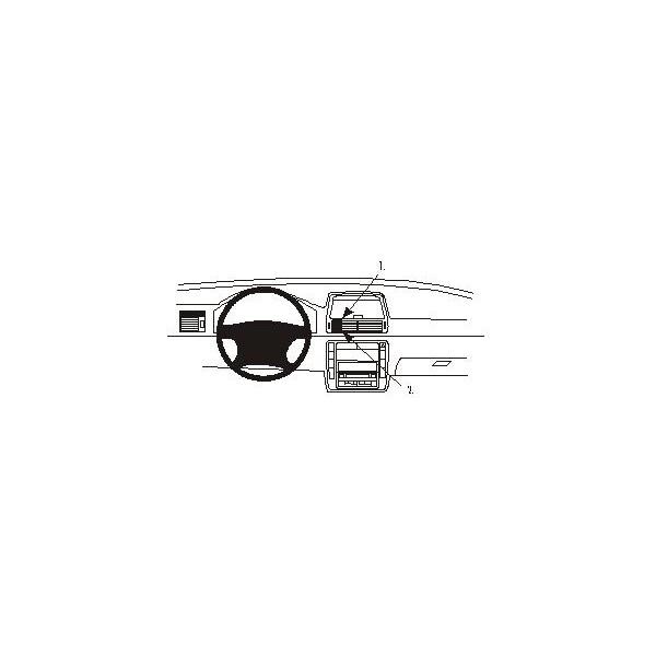 Brodit ProClip montážní konzole pro Volkswagen Sharan 01-10 Seat Alhambra 01-10