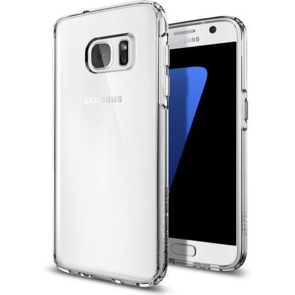 Pouzdro Spigen Ultra Hybrid Samsung Galaxy S7 edge čiré Čirá
