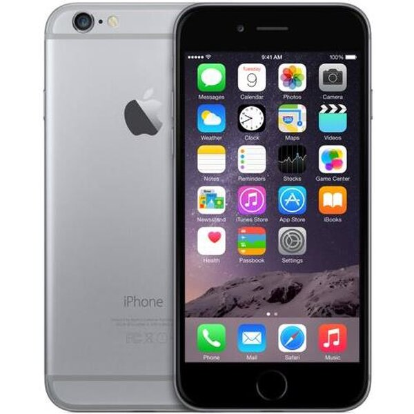 Apple iPhone 6, 64GB Vesmírně šedá