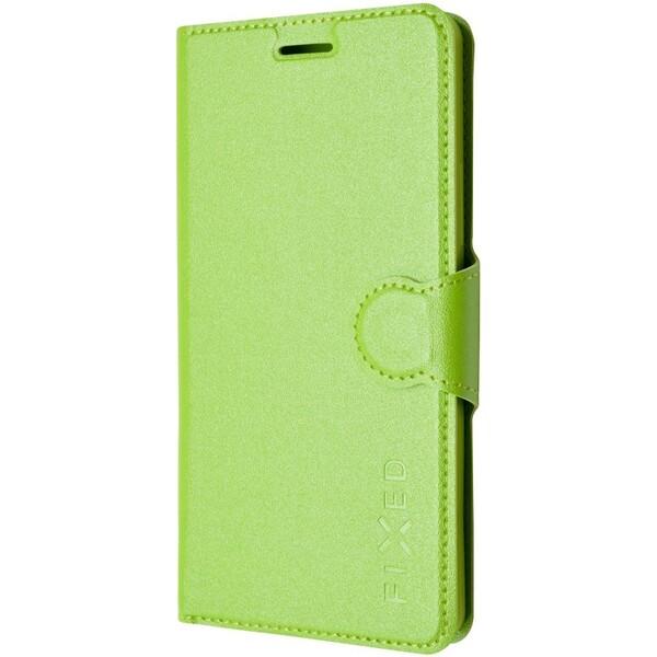 FIXED flip pouzdro Lenovo Vibe P1 zelené