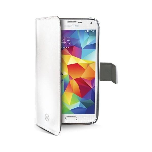Pouzdro CELLY Wally Samsung Galaxy S5 mini bílé Bílá