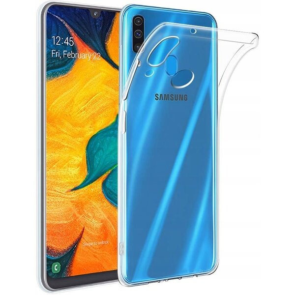 Smarty ultratenké TPU pouzdro 0,3mm Samsung Galaxy A40 čiré