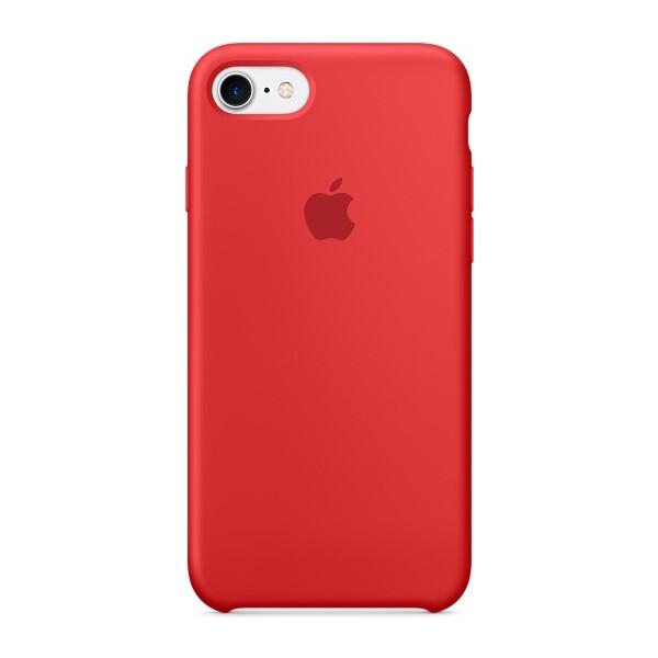 Pouzdro APPLE iPhone 7 Silicone Case Červená
