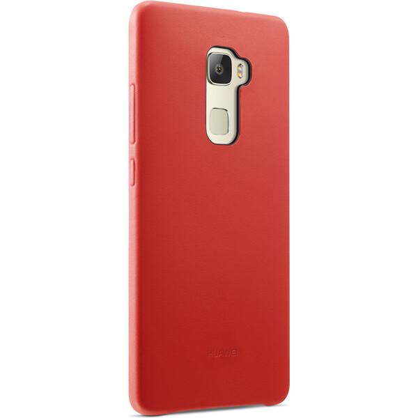 Huawei kožené pouzdro Mate S červené