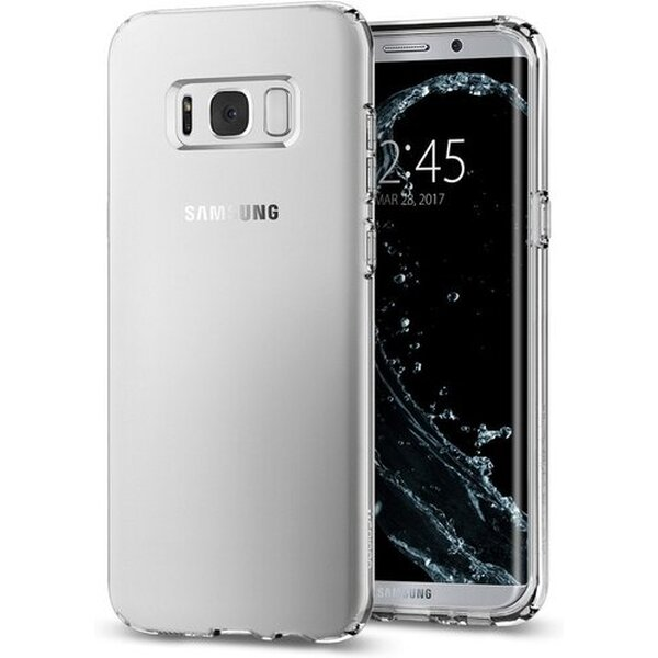 Pouzdro Spigen Liquid Crystal Samsung Galaxy S8 Černá