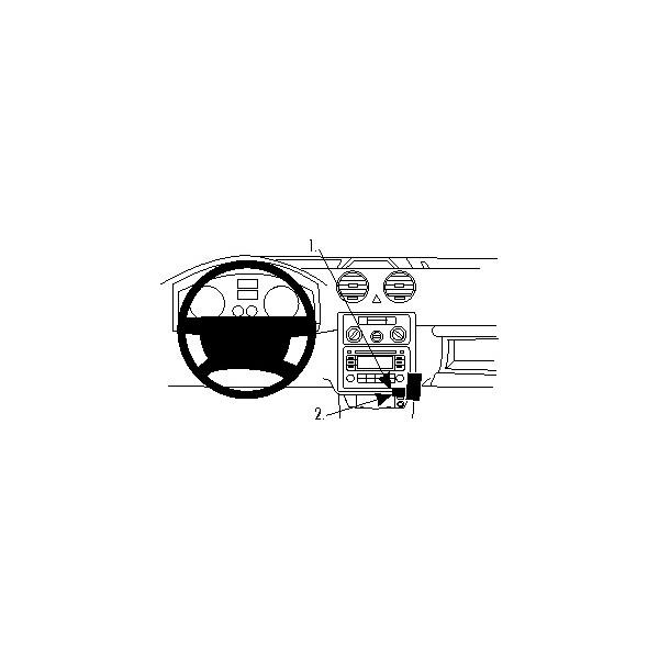 Brodit ProClip montážní konzole pro Volkswagen Caddy 04-12