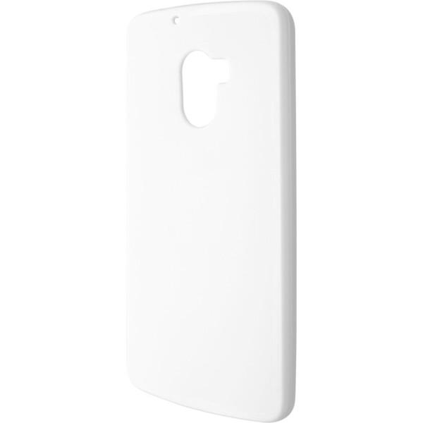 Pouzdro FIXED Lenovo A7010 / A7010 čiré Bílá