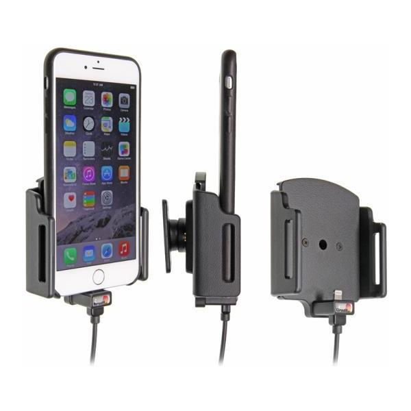Brodit držák do auta iPhone 6/6S Plus/6S Plus nastavitelný se skrytým nabíjením USB adaptér