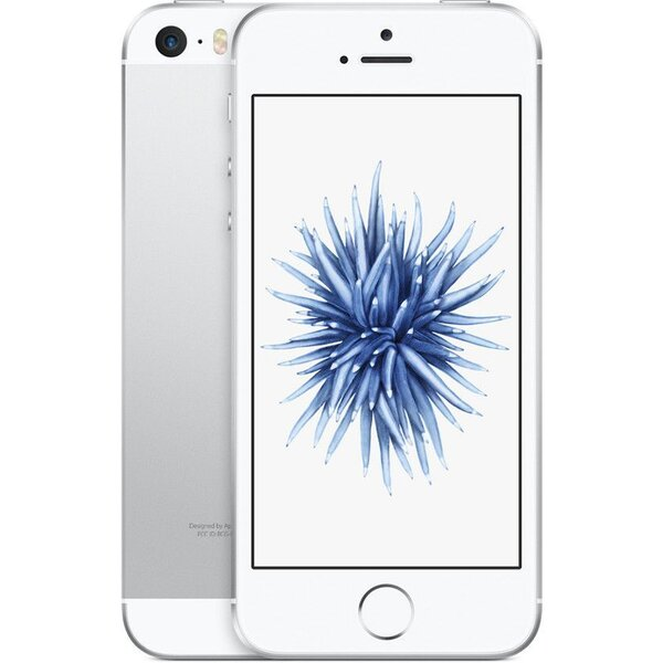 "Apple iPhone SE 16GB / 4"" Retina / 12MPx /MLLP2CS/A / Stříbrná"